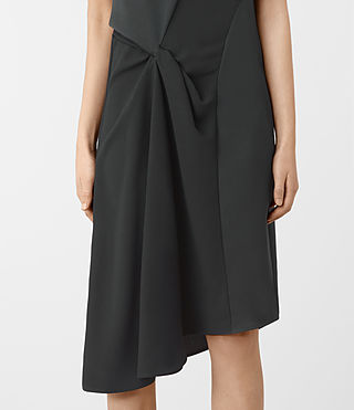 Damen Fern Dress (OIL BLACK) - product_image_alt_text_3