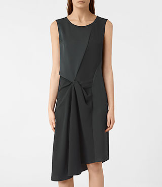 Damen Fern Dress (OIL BLACK) - product_image_alt_text_4
