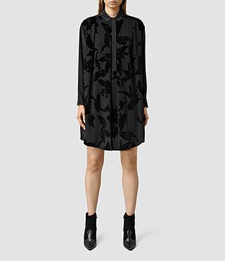 Women's Raina Lux Dress (Black)