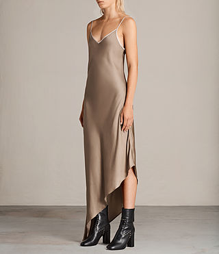Womens Leah Dress (SAND YELLOW) - Image 3