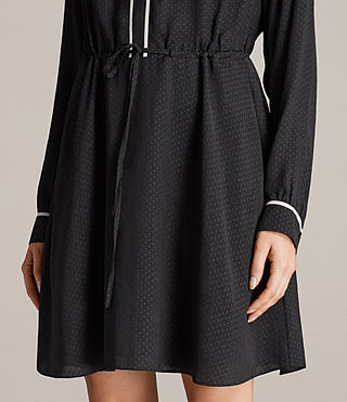Women's Rica Dress (Black) - product_image_alt_text_2