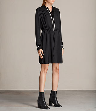 Women's Rica Dress (Black) - product_image_alt_text_3