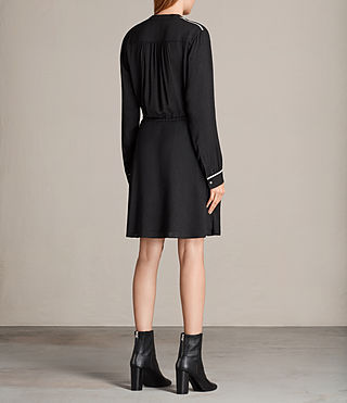 Women's Rica Dress (Black) - product_image_alt_text_7