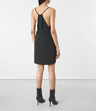 Mujer Cosmo Dress (OIL BLACK) - product_image_alt_text_2