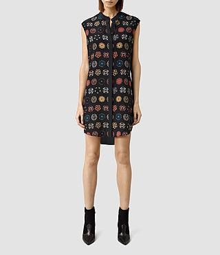 Women's Luna Aries Dress (Black)
