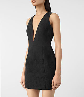 Femmes Dalea Dress (Black) - product_image_alt_text_2