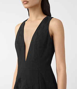 Damen Dalea Dress (Black) - product_image_alt_text_4