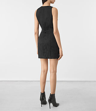 Damen Dalea Dress (Black) - product_image_alt_text_5