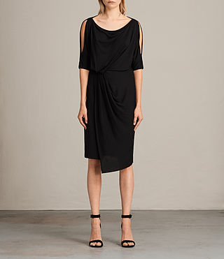 Womens Sina Dress (Black) - Image 1