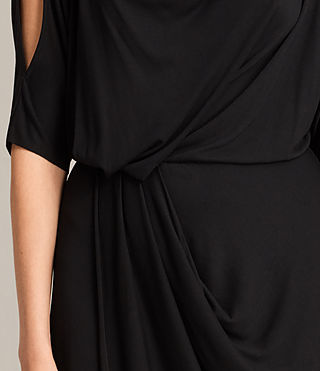 Womens Sina Dress (Black) - Image 4