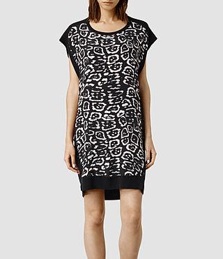 Womens Alna Felix Dress (Black)