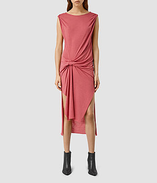 Women's Riviera Devo Dress (SORBET PINK)