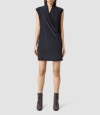 Women's Nast Dress (Ink Blue)