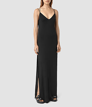 Womens Faye Dress (Black)