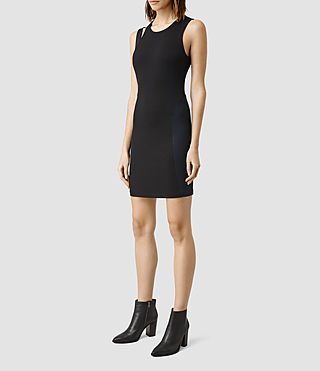 Mujer Rado Dress (Black) - product_image_alt_text_2