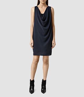 Women's Adyn Dress (Ink Blue/Black)