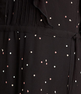 Femmes Robe sans manches Star (Black) - product_image_alt_text_4