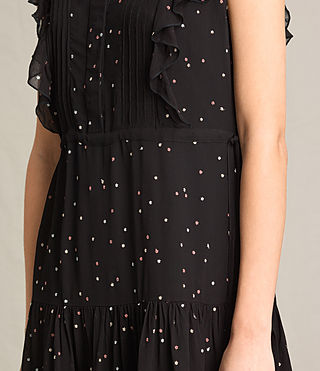 Femmes Robe sans manches Star (Black) - product_image_alt_text_6