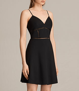 Womens Clementine Dress (Black)