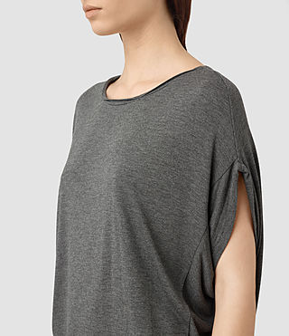Womens Iris Dress (Grey Marl) - product_image_alt_text_2