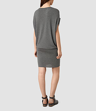 Womens Iris Dress (Grey Marl) - product_image_alt_text_4