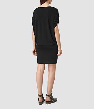 Mujer Iris Dress (Black) - product_image_alt_text_4