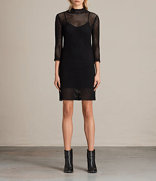 Womens Avril Dress (Black)