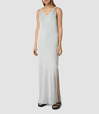 Womens Evelyn Dress (MIRAGE GREY)