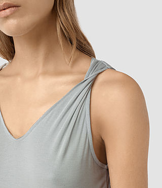 Womens Evelyn Dress (MIRAGE GREY) - product_image_alt_text_2