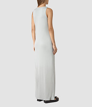 Womens Evelyn Dress (MIRAGE GREY) - product_image_alt_text_5