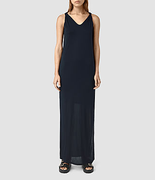 Mujer Evelyn Dress (DARK NAVY BLUE) - product_image_alt_text_1