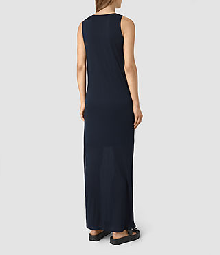 Donne Evelyn Dress (DARK NAVY BLUE) - product_image_alt_text_5