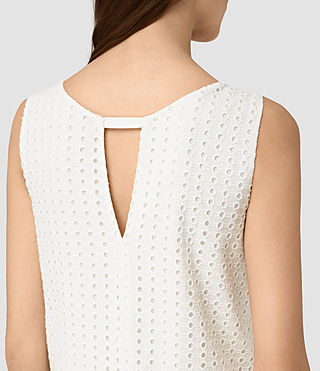 Women's Milda Dress (Chalk White) - product_image_alt_text_2