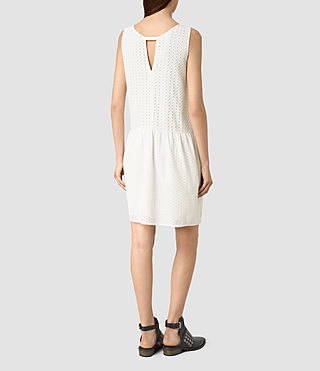 Women's Milda Dress (Chalk White) - product_image_alt_text_4