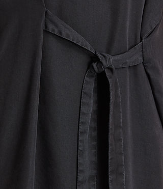 Women's Sonny Tencel Dress (Dark Grey) - product_image_alt_text_4
