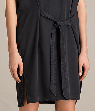 Women's Sonny Tencel Dress (Dark Grey) - product_image_alt_text_6