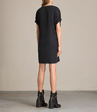 Womens Sonny Tencel Dress (Dark Grey) - product_image_alt_text_7