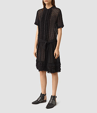 Women's Abel Emrys Dress (Black) - product_image_alt_text_3