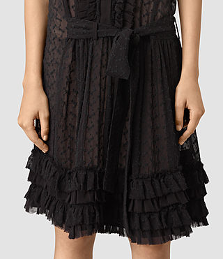 Womens Abel Emrys Dress (Black) - product_image_alt_text_4