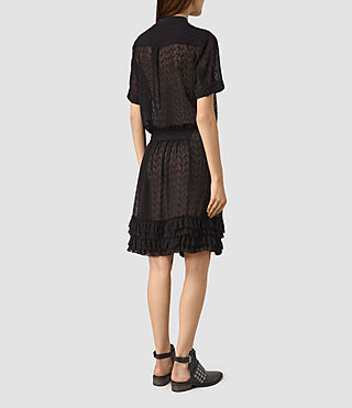 Womens Abel Emrys Dress (Black) - product_image_alt_text_5