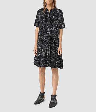 Mujer Abel Emrys Print Dress (Black) -