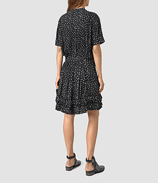 Womens Abel Emrys Print Dress (Black) - product_image_alt_text_6