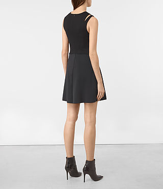 Womens Sandy Dress (Black) - product_image_alt_text_5