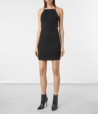 Womens Mala Dress (Black)