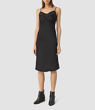 Femmes Zemery Dress (Black)