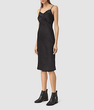 Womens Zemery Dress (Black) - product_image_alt_text_3