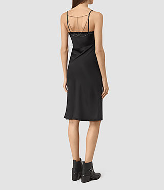 Femmes Zemery Dress (Black) - product_image_alt_text_5