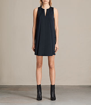 Damen Bea Dress (Midnight Blue/Blk)