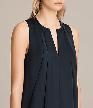Womens Bea Dress (Midnight Blue/Blk) - product_image_alt_text_2