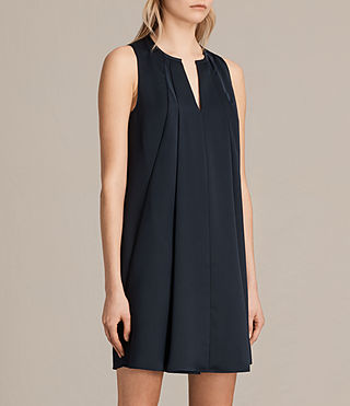 Womens Bea Dress (Midnight Blue/Blk) - product_image_alt_text_4